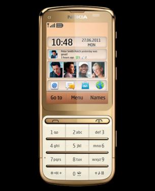Фото Nokia C3-01 Gold Edition