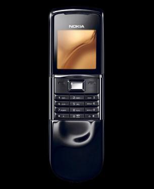 Фото Корпус Nokia 8800 Sirocco Black (Dark) Оригинал